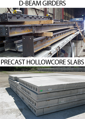 D-BEAM<sup>®</sup>s and Precast HC Plank